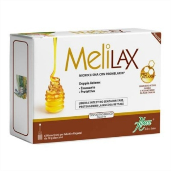 Aboca Naturaterapia Linea Intestino Melilax Adulti 6 Microclismi