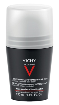 Vichy Linea Homme Deo Deodorante Uomo Anti-Traspirante Roll-on 72h 50 ml